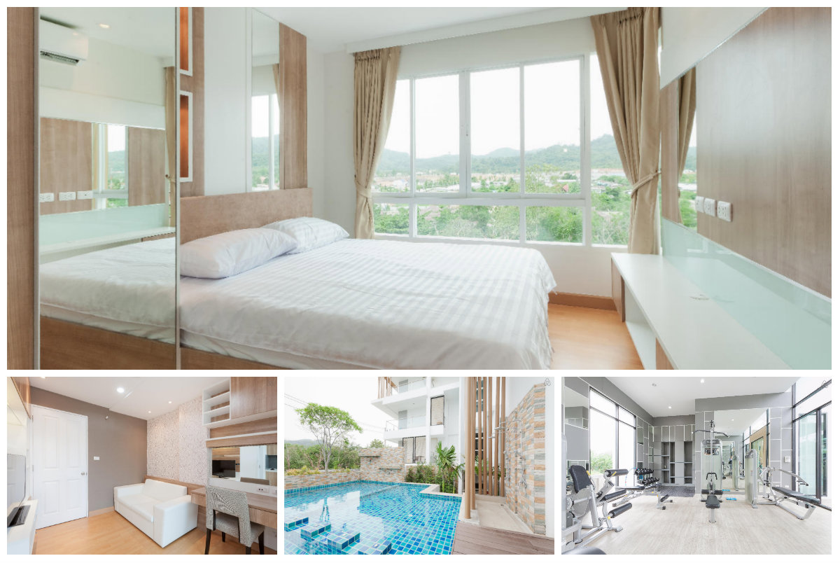 Cosy & Modern One Bedroom Condo for rent in Phuket