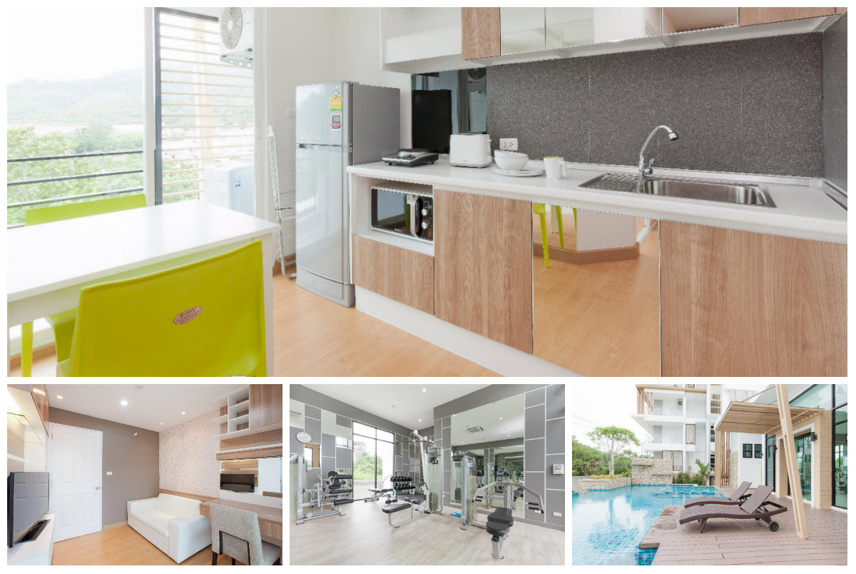 Comfy & Modern One Bedroom Condo for rent in Phuket