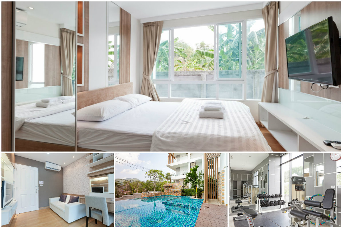 Snug & Modern One Bedroom Condo for rent in Phuket