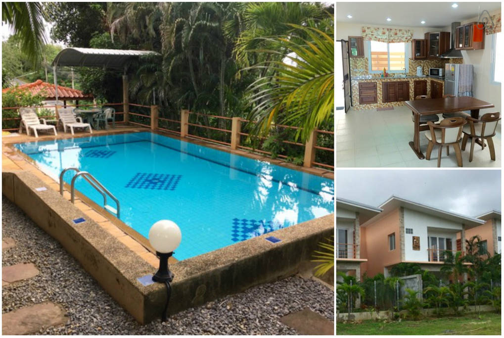 2-Storey House, Shared Pool in Quiet Location